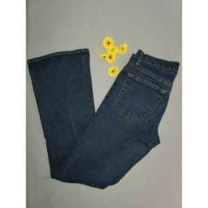Gap Low Rise Flare Stretch Jeans Size 4 Denim